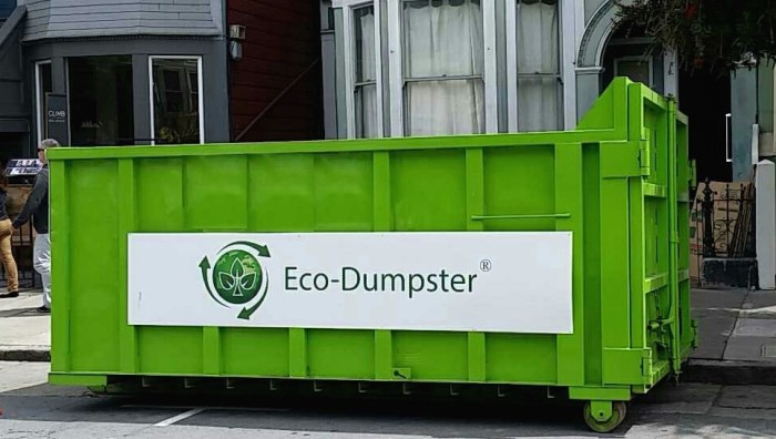 Dumpster Rental service in the san francisco bay
