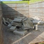 Concrete hauling is easier with our Eco-Dumpster