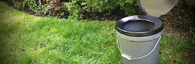 The simplest, cheapest and easiest compost toilet