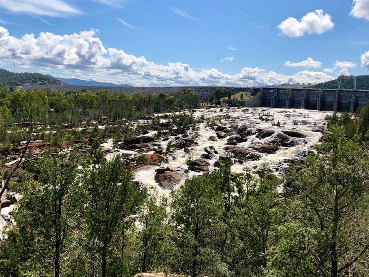 Wyangala Dam e-water release, October 2020