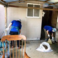 «活動報告»一軒家片付け掃除