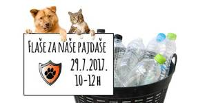"""""""Flaše za naše pajdaše"""" – akcija Udruge Merida"""