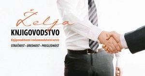 Knjigovodstvo za tvrtke, obrte, pravne i fizičke osobe, stručno, uredno, pregledno knjigovodstvo Želja u Zagrebu, računovodstvo specijalizirano za tvrtke u stranom vlasništvu i turistička poduzeća, najbolji omjer cijene i kvalitete, rješavanje svih administrativnih pitanja, sigurnost u poslu, vođenje poslovnih knjiga prema uputama Porezne uprave