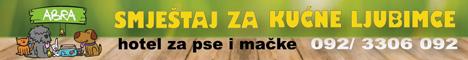 Hotel za kućne ljubimce - pse i mačke Abra, specijaliziran za čuvanje, brigu i smještaj pasa i mačaka na više od 5000 m2 otvorenog i zatvorenog ugodnog i sigurnog prostora, pansion za pse i mačke uz individualni pristup, nadzor i prijevoz za kućne ljubimce u blizini Velike Gorice i Zagreba