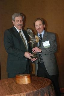 Alumnus, John Organ receives Receives Prestigious National Wildlife Conservation Award