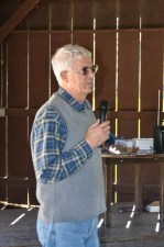 Dr. Dennis Ryan presenting Urban Forestry & Arboriculture awards