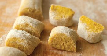 Gnocchi de batata-doce