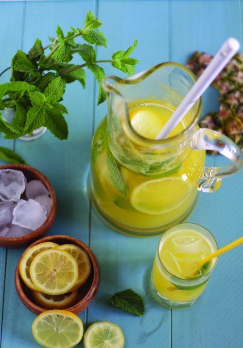 Limonada de abacaxi