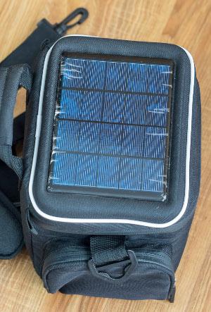 Solarrucksack für Fotografen