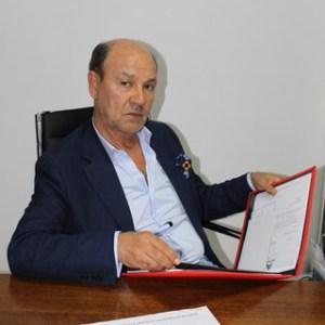 O presidente da Associação de Comerciantes do Algarve (ACRAL), Dr. Victor Guerreiro