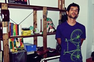 Ricardo Marques fährt täglich Rad