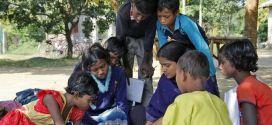 A escola na aldeia (Foto Jenner Zimmermann)