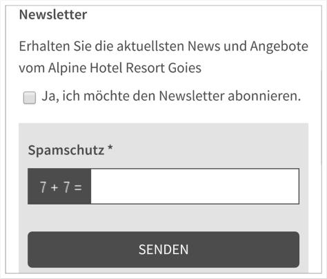 Gute Gelegenheit: Newsletter-Abos im Anfrageformular generieren