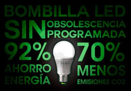 Bombilla-led-sin-obsolescencia-programada