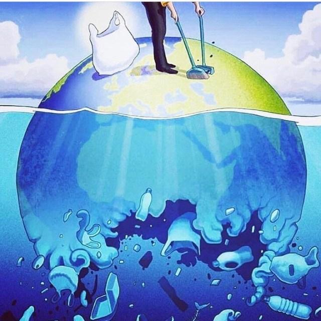 El camino del plástico