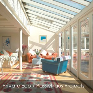 private passive house projects link