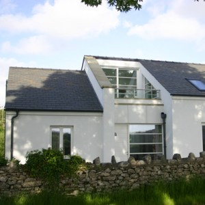 super insulated passive house
