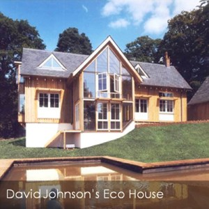 David Johnson's eco house