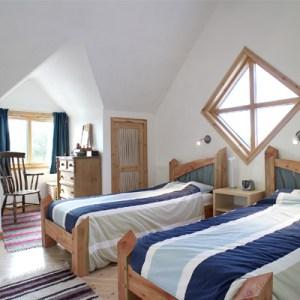 eco house bedroom