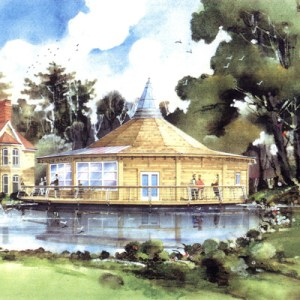 Osho Leela Meditation Hall Dorset