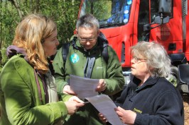 Alan and I got talking to the editor of the UK Forestry Journal, Margaret Lunn. She was telling us that they have many Irish readers of their magazine and are seeing growth in small woodland growers and managers in Ireland.