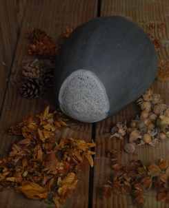 Martin's latest stone sculpture 'hazelnut' is also inspired by Hollywood, see more at http://www.lithicworks.com