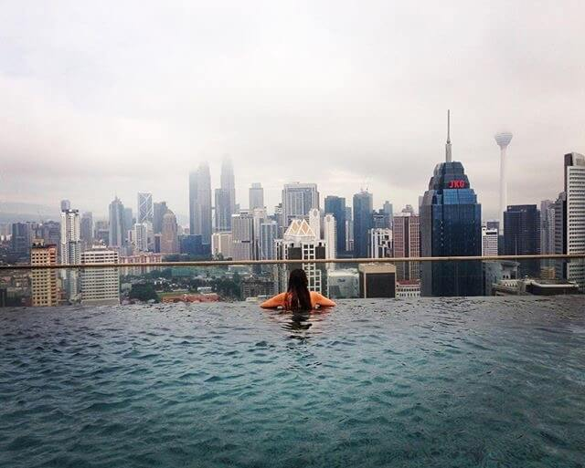 The Infinity Pool in the Regalia