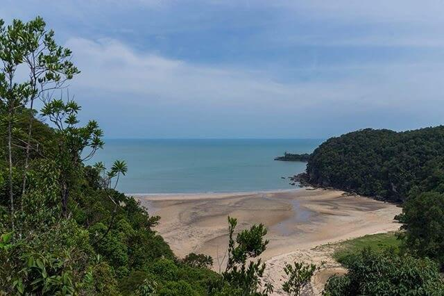 The end of the Pandan Kecil Trail