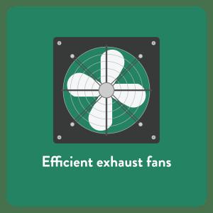 Efficient Exhaust Fans