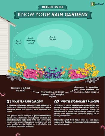 Retrofits 101: Rain Gardens cover