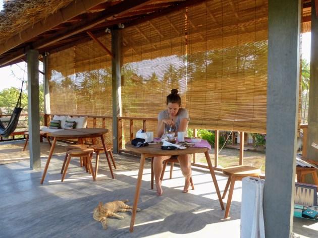 Manusia Green Lodge - breakfast