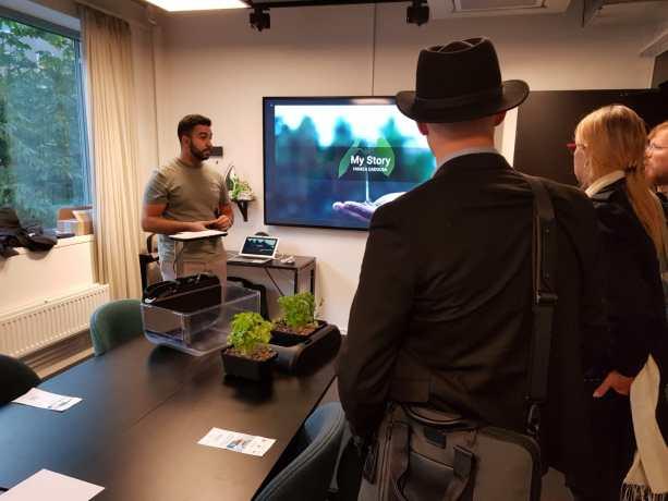 hamza introduced ecogarden