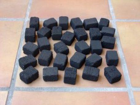 Disposició Briquetes en 1 capa