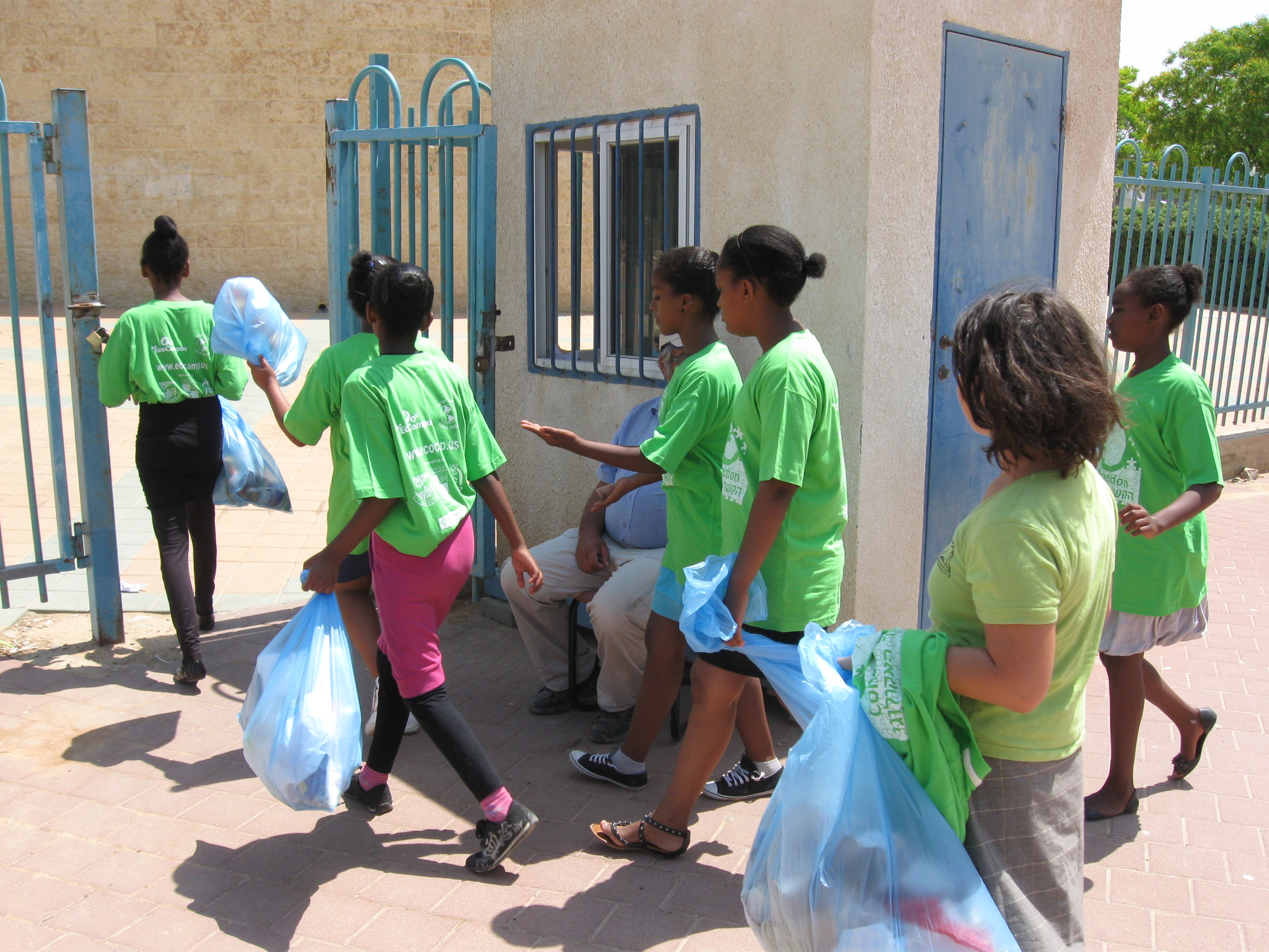 Hammer Students Go Eco In Netivot