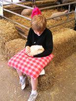 Cuddle a pet at Adam Henson's Farm Park