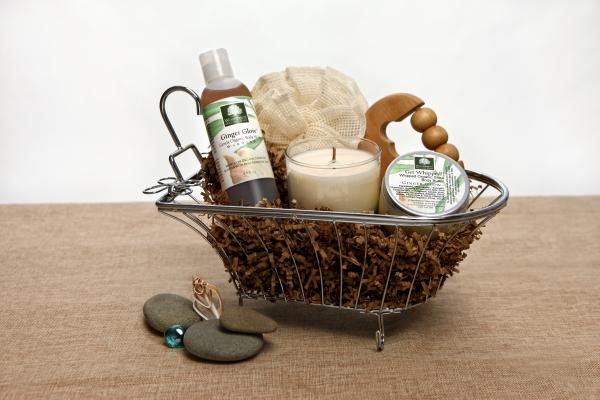 Organic Spa Gift Basket: Urban Oasis