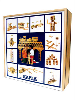 Kapla wooden blocks
