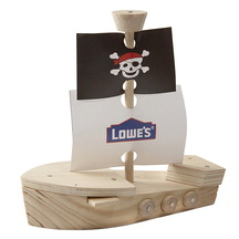 Lowes Pirate Ship