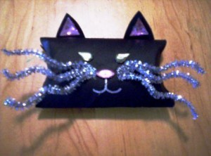 Black Cat Favor Box