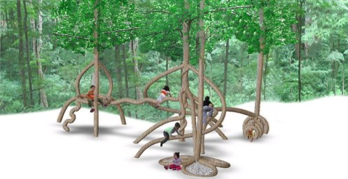 living tree playground concept by Plantware