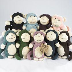 Maggie\'s Menagerie of sock monkeys