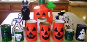 some of our Halloween crafts