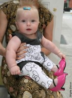 high heeled shoes for baby