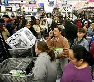 Black Friday Shopping at Wal-Mart