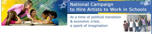 Hire artists to work in the schools as part of a National Green Arts Corps