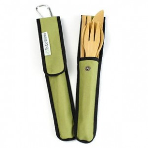 Bamboo eating utenisls from Eco-Artware.com