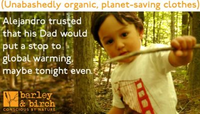 organic, sustainable kids clothes