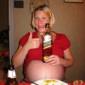 Women want to home birth so they can drink whiskey!