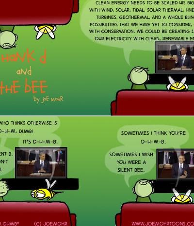 Hank D and the Bee: D-U-M Dumb
