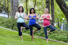 Yoga is great for pregnancy!